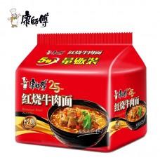 康师傅红烧牛肉5连包(缺货)