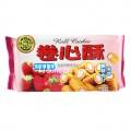 徐福记卷心酥草莓味